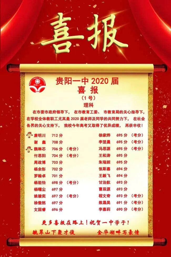 贵州省贵阳市最厉害的高中是哪所?...